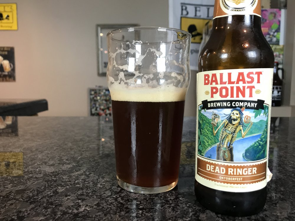 DEAD RINGER 6% ABV 26 IBUS - Want to see the Video review? Click on the image.