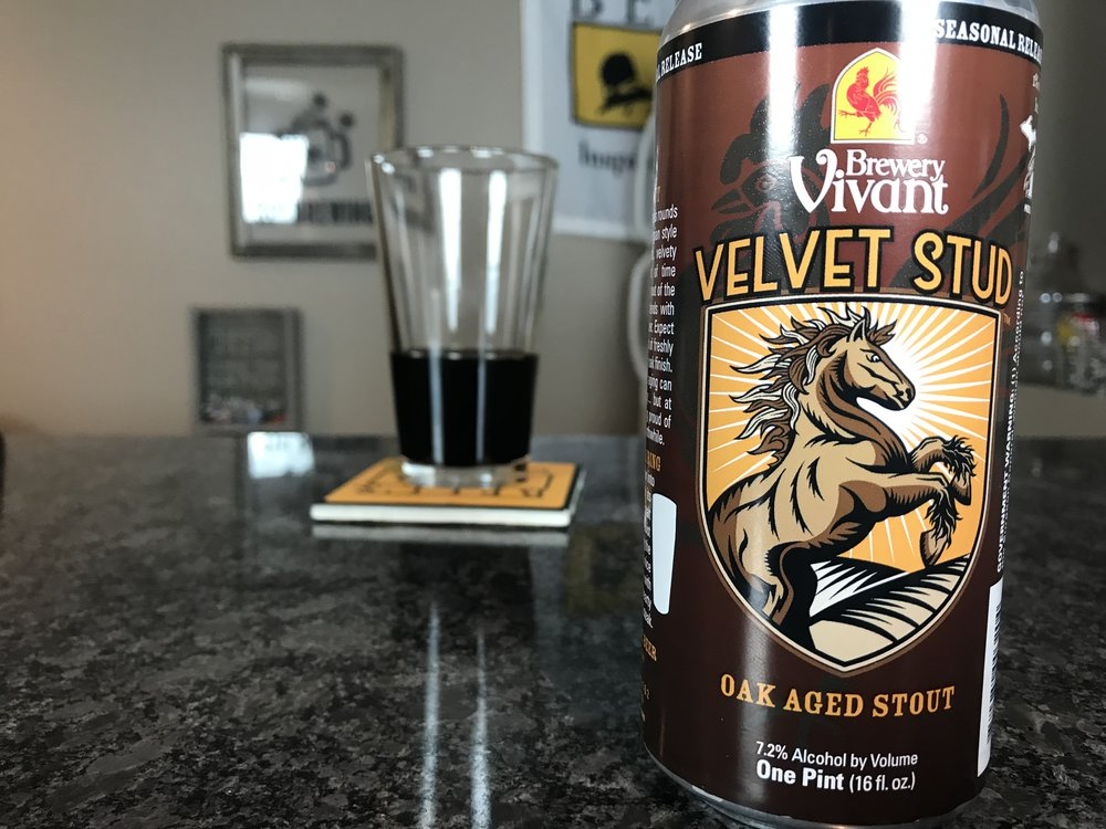 VELVET STUD 7.2% ABV - Want to see the Video review? Click on the image.