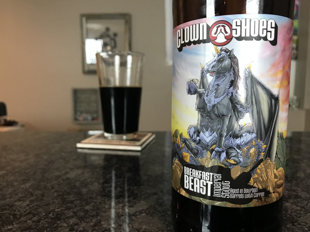 Breakfast Beast 10.5% ABV - Want to see the Video review? Click on the image.