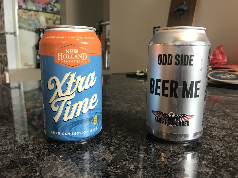 Round 1 Game 4: Odd Side Ales Beer Me vs New Holland Extra Time - Want to see the Video review? Click on the image.