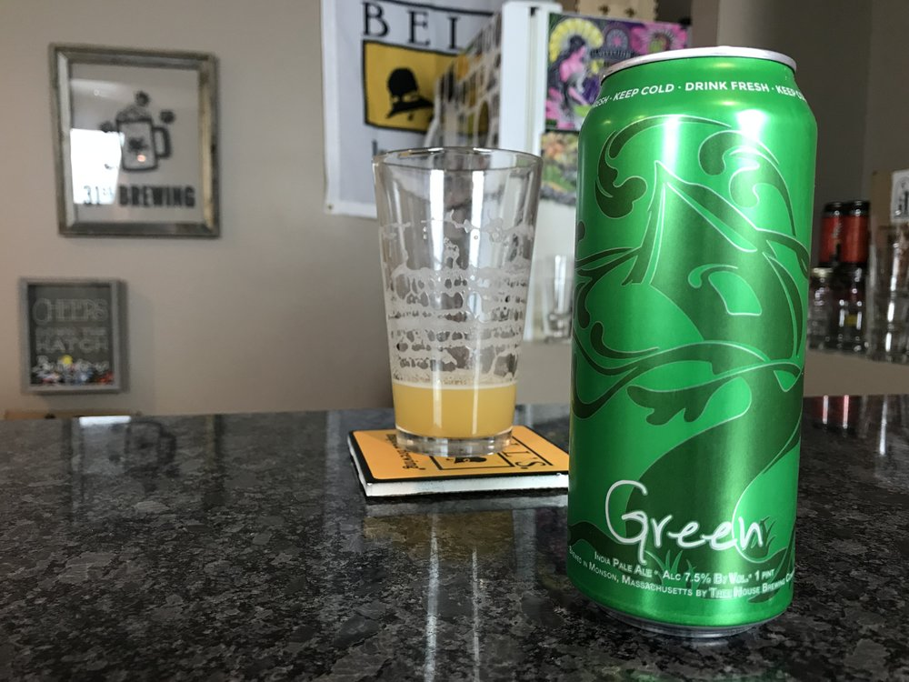Green 7.5% ABV 90 IBUs - Want to see the Video review? Click on the image.