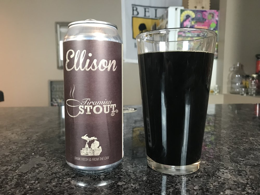 Tiramisu Coffee Stout 7% - Want to see the Video review? Click on the image.