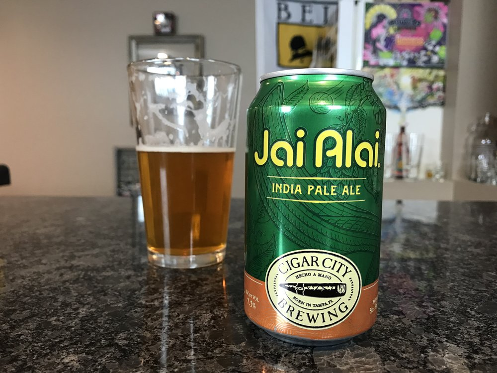 Jai Alai 7.5% ABV - Want to see the Video review? Click on the image.