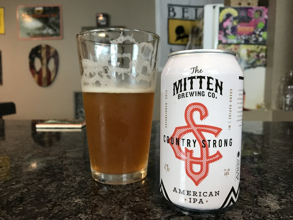 Country Strong IPA 7.2% ABV - Want to see the Video review? Click on the image.
