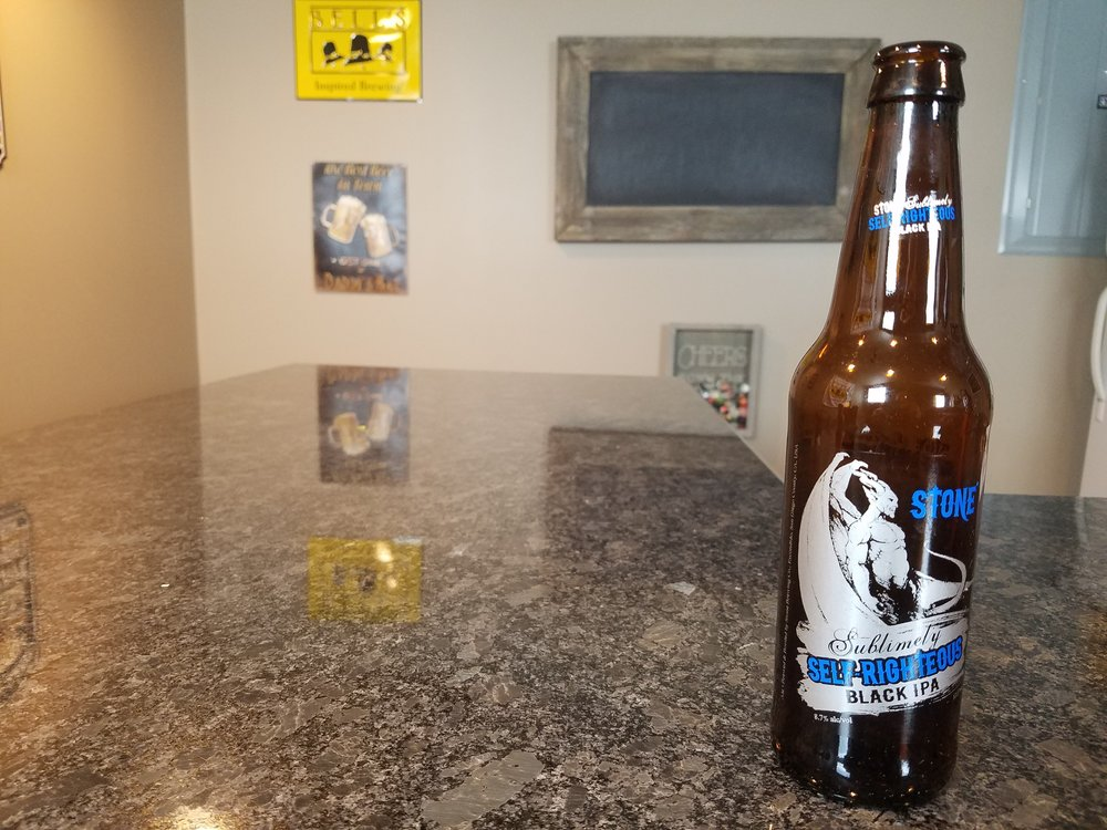Sublimely Self Righteous 8.7% ABV 90 IBUs