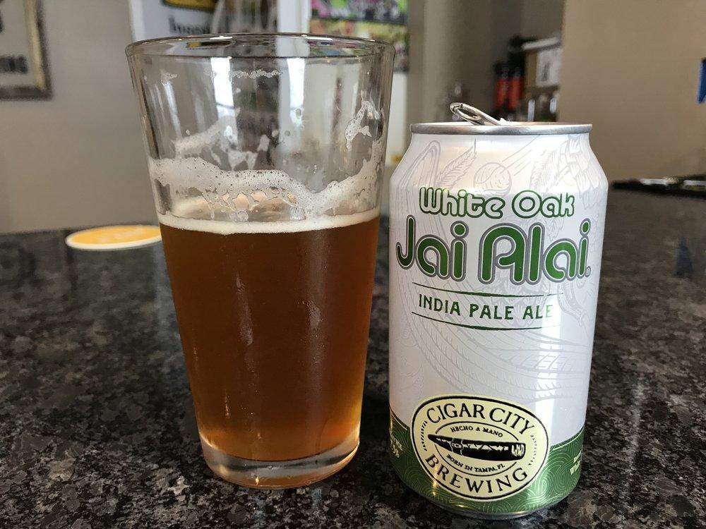 White Oak Jai Alai   7.5% ABV 65 IBUs