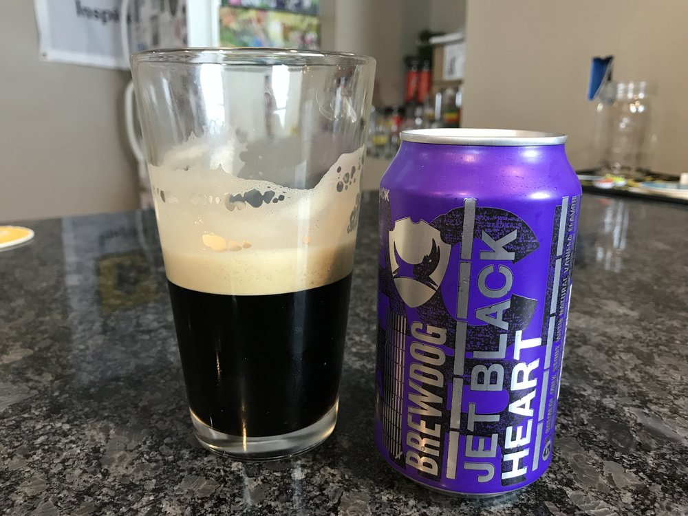 BrewDog Jet Black Heart   4.7% ABV