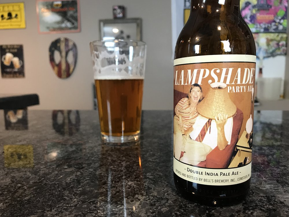 Lampshade Party Ale 9% ABV - Want to see the Video review? Click on the image.