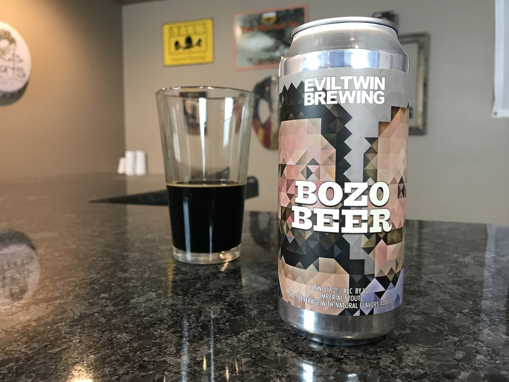 Bozo Beer 16% ABV - Want to see the Video review? Click on the image.