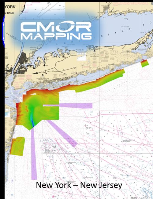 New York - New Jersey CMOR Card — High-resolution Digital Fishing ...