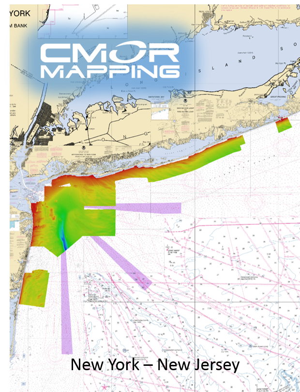 New York - New Jersey CMOR Card — High-resolution Digital Fishing and  Diving Maps and Charts | CMOR Mapping
