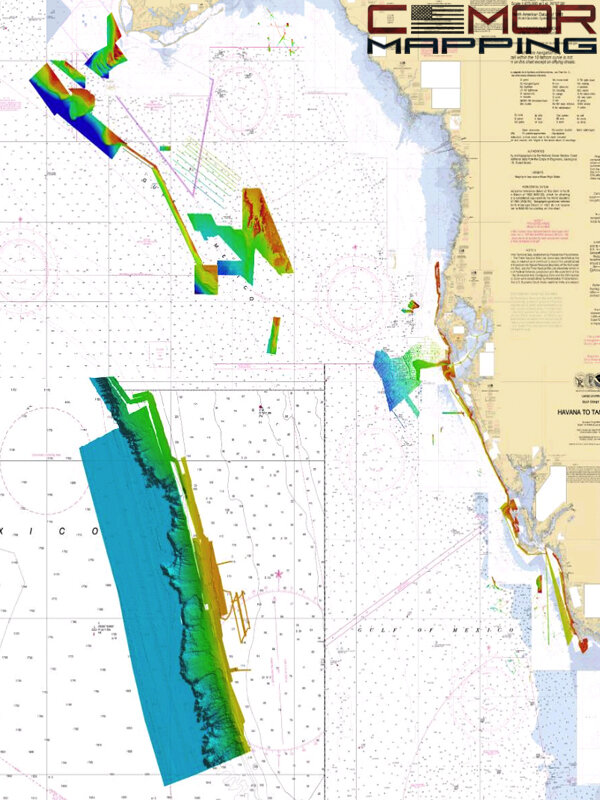 High-resolution Digital Fishing and Diving Maps and Charts