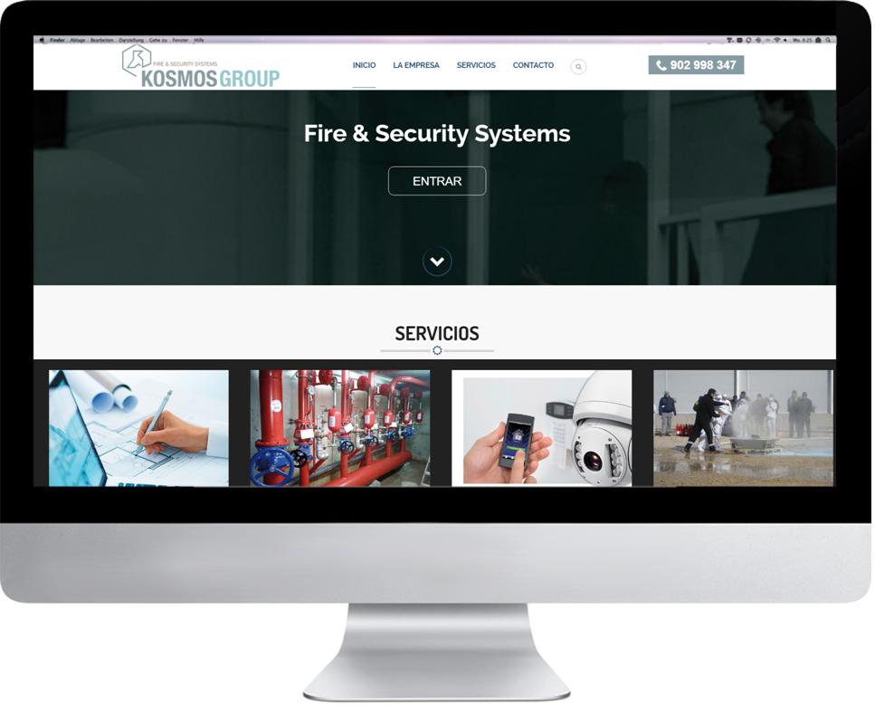 Wordpress   Estudio de nueva identidad corporativa  diseño nueva identidad y desarrollo web  www.kosmos-group.net