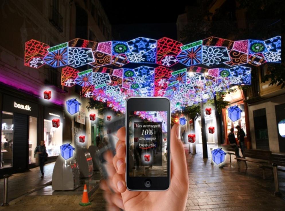 App AR   Promociones y descuentos  Ideal para el Comercio de Proximidad