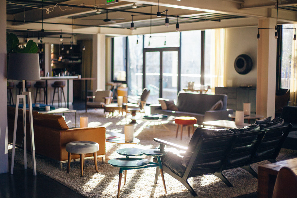 Cloud Room Seattle Co Working Lounge Space