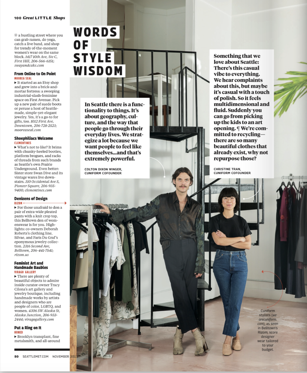 Cuniform Styling Wardrobe Seattle Met 100 best