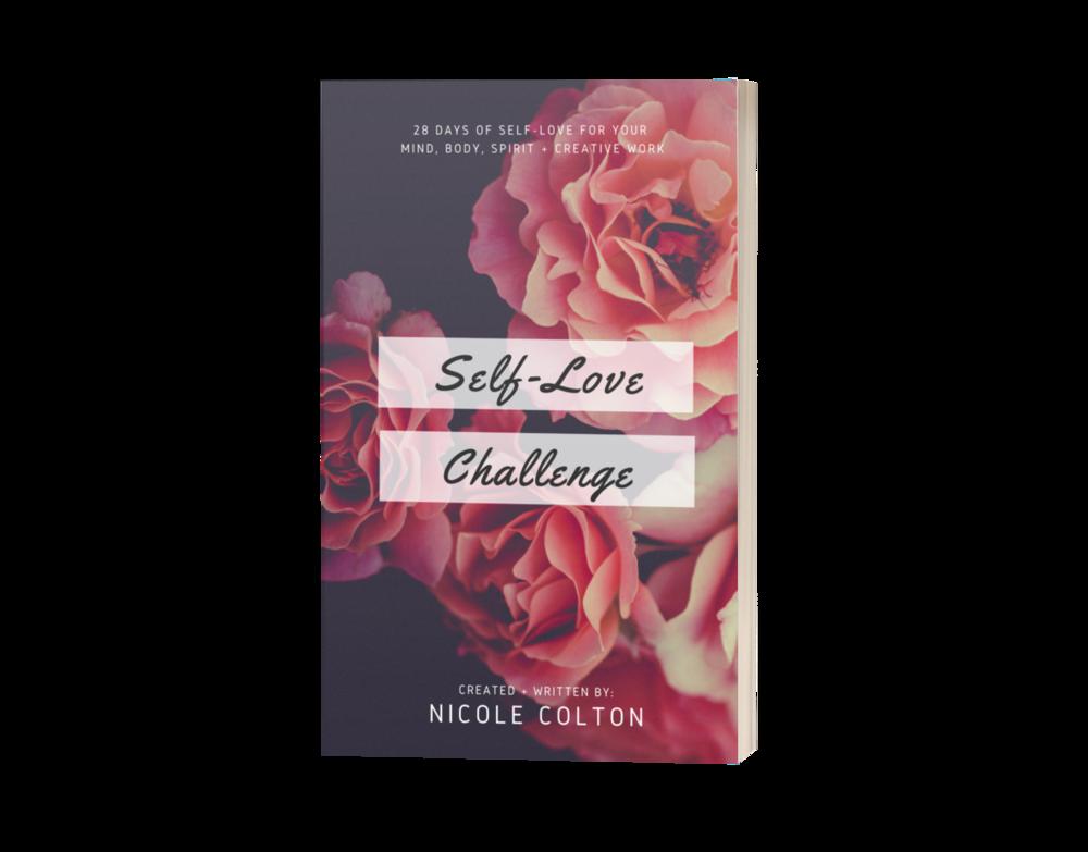 Self-Love Challenge Book (Paperback)     [International Order - Includes $5 S&H]