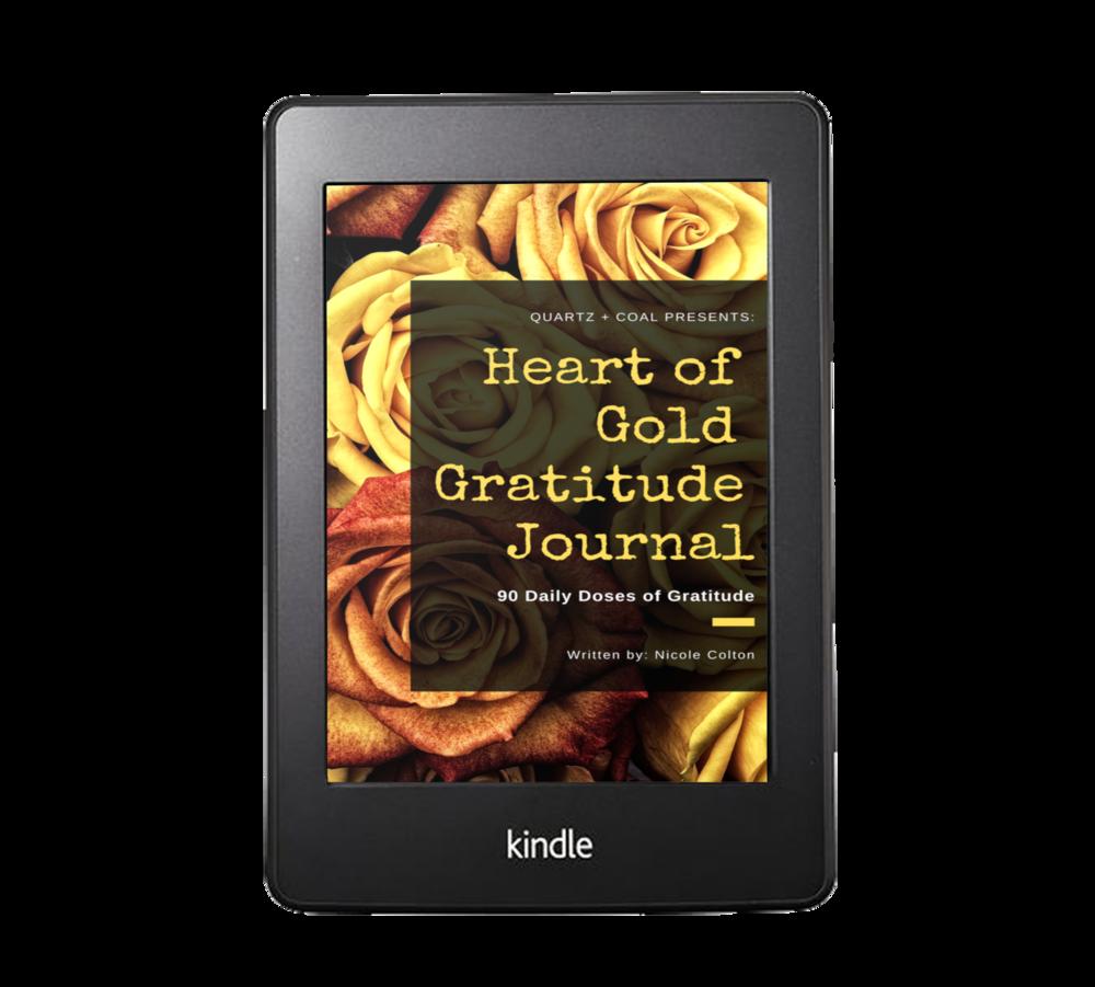 Heart of Gold Gratitude Journal (Digital)    [PRE-ORDER - Available April 15]