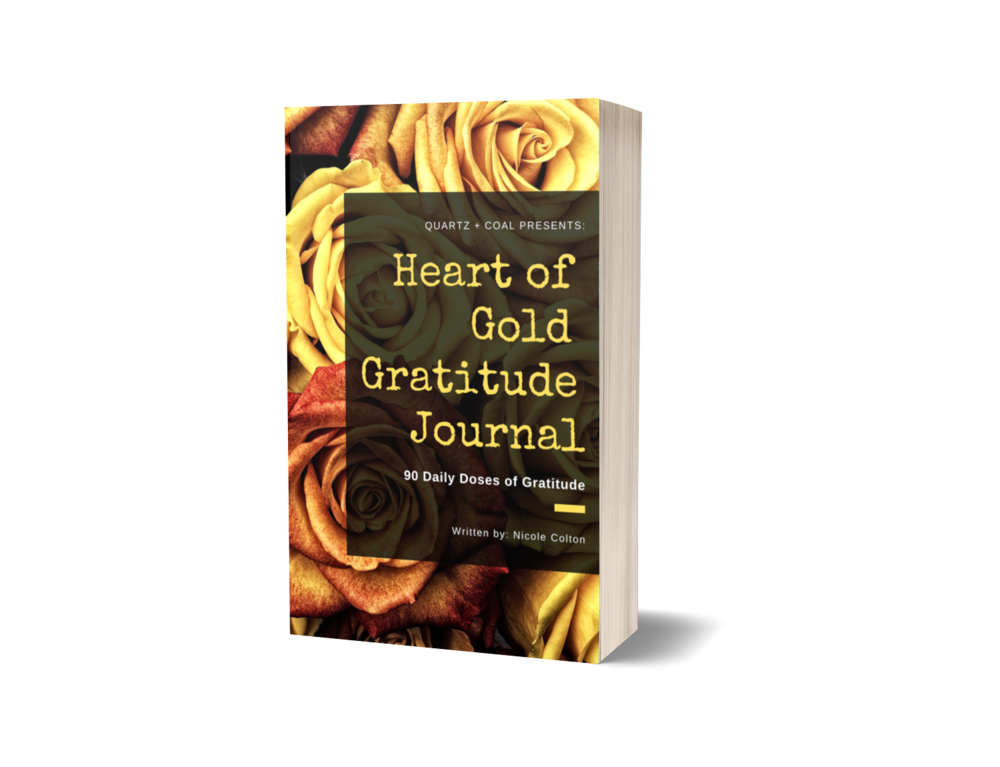 Heart of Gold Gratitude Journal    [PRE-ORDER - Available April 15]