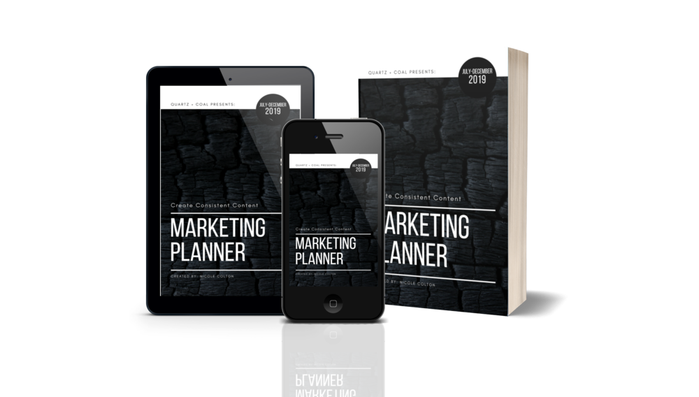 Marketing Planner    [PRE-ORDER - AVAILABLE MAY 1]