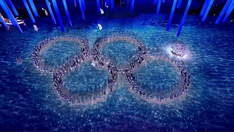Sochi Olympic Ring Fail - 2014 Winter Olympics