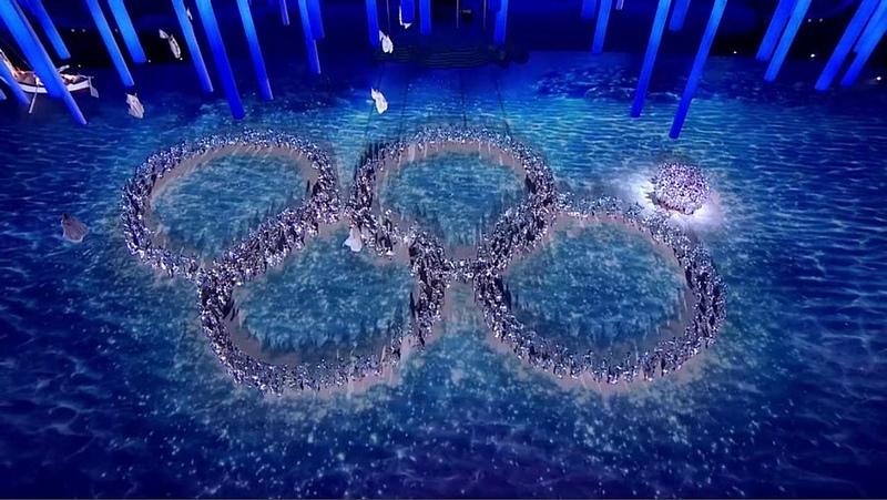 Sochi Olympic Ring Fail - 2014 Winter Olympics