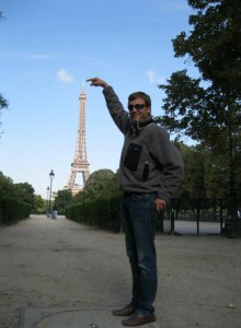 Tyler Weiland and Eiffel Tower