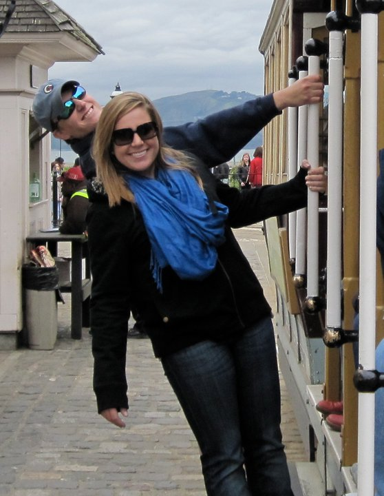 LPR Associate Tyler Weiland and his sister, Kari, San Francisco 2011 (We keep telling him he needs to take another vacation soon!)