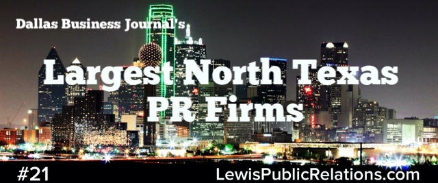 Top Dallas PR Firms-DBJ