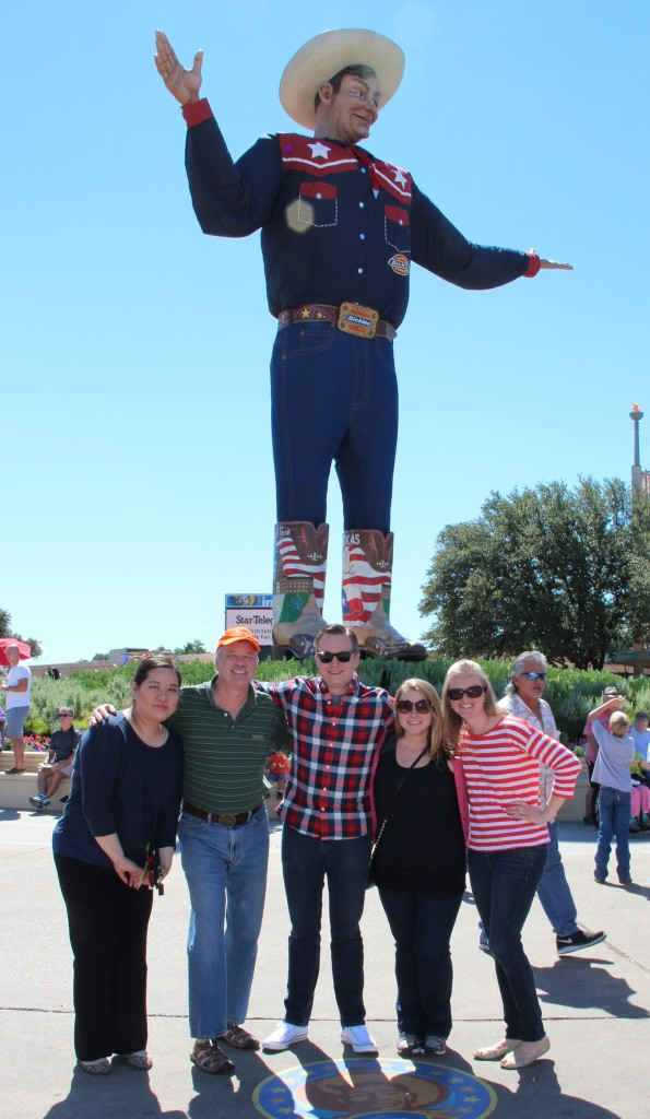 Big Tex and LPR at the State Fair of Texas 2014