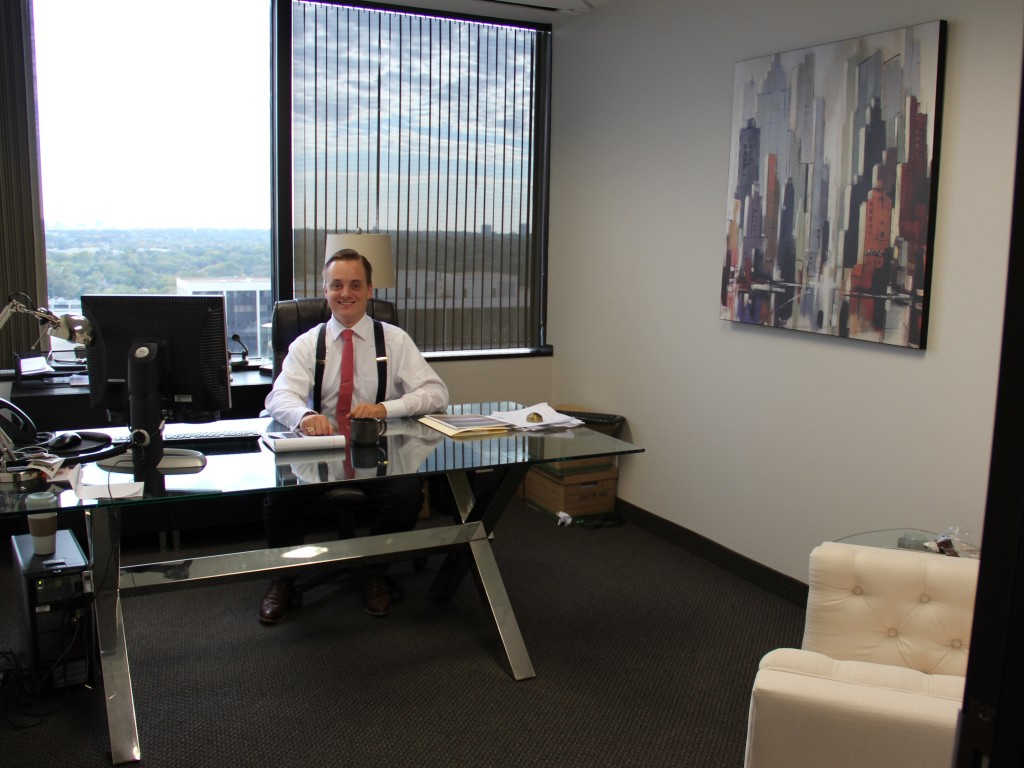 Lewis Public Relations Dallas PR agency - Tyler Weiland office
