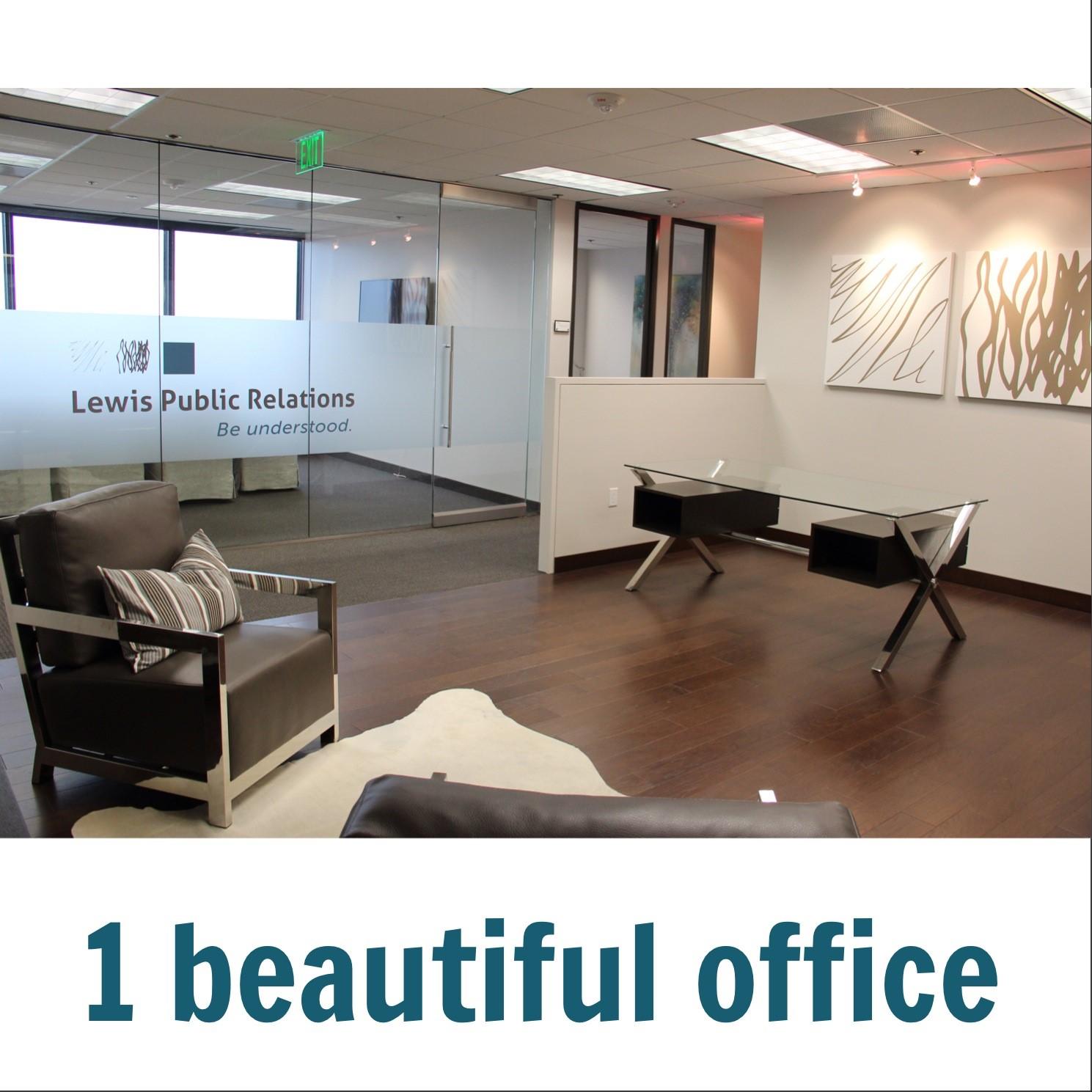 Lewis Public Relations Dallas office