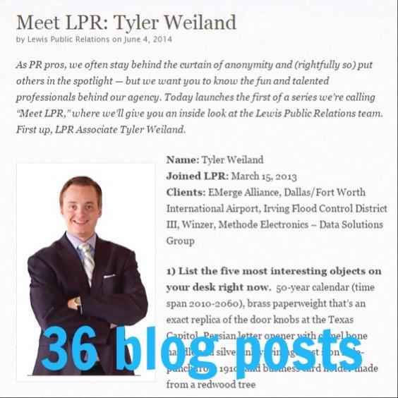 Lewis Public Relations blog