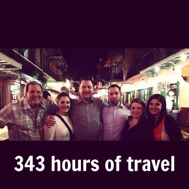 Lewis Public Relations client travel