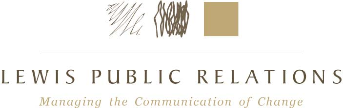 Lewis Public Relations, First Logo