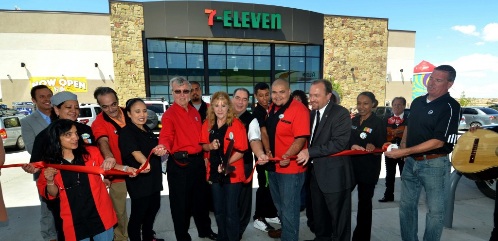 ALON/7-Eleven ribbon cutting Rio Rancho