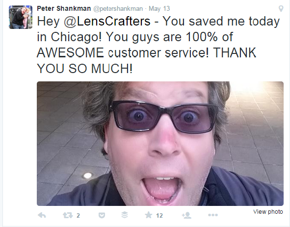 Peter Shankman - Tweet
