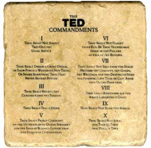 TED Commandments by Chirag Chamoli