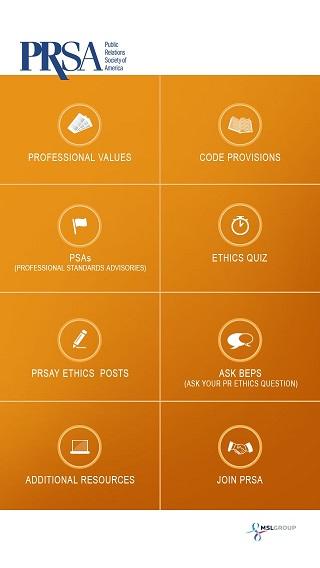 PRSA web app