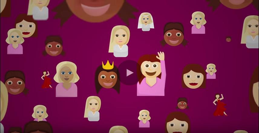 GE - Breast Density Explained with Emoji