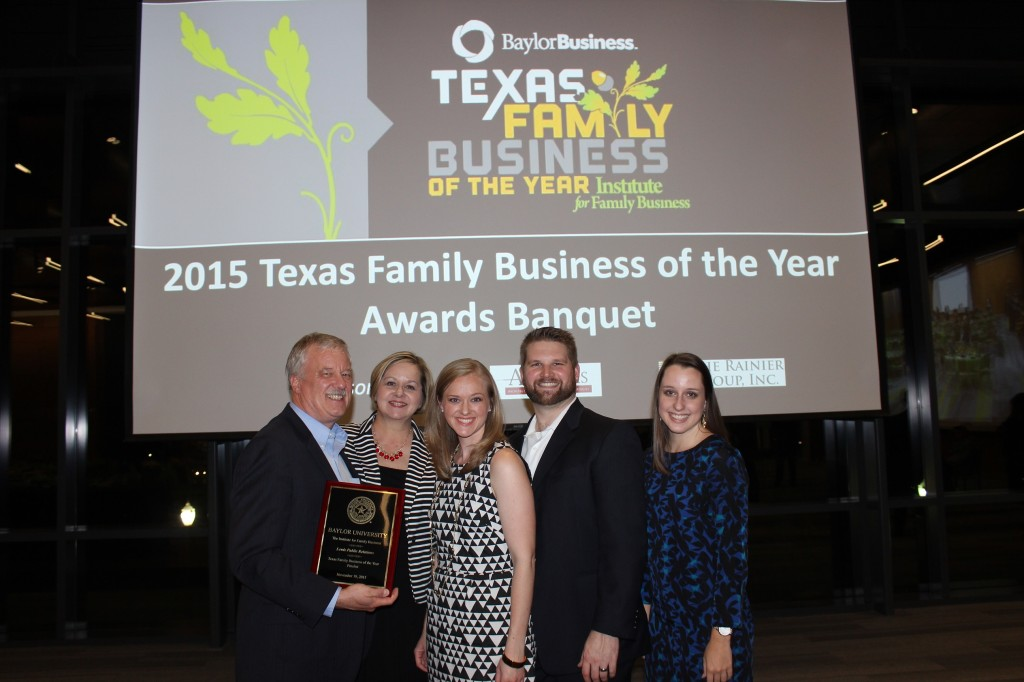 Baylor Award photo