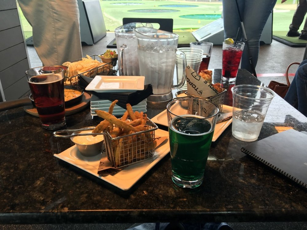 Topgolf Food