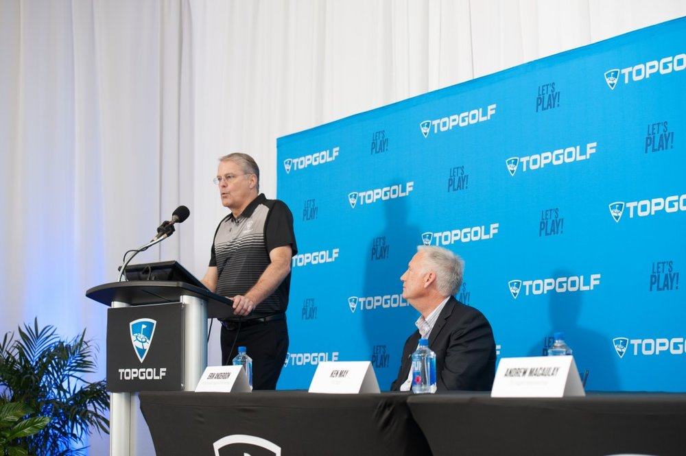 Topgolf News Conference