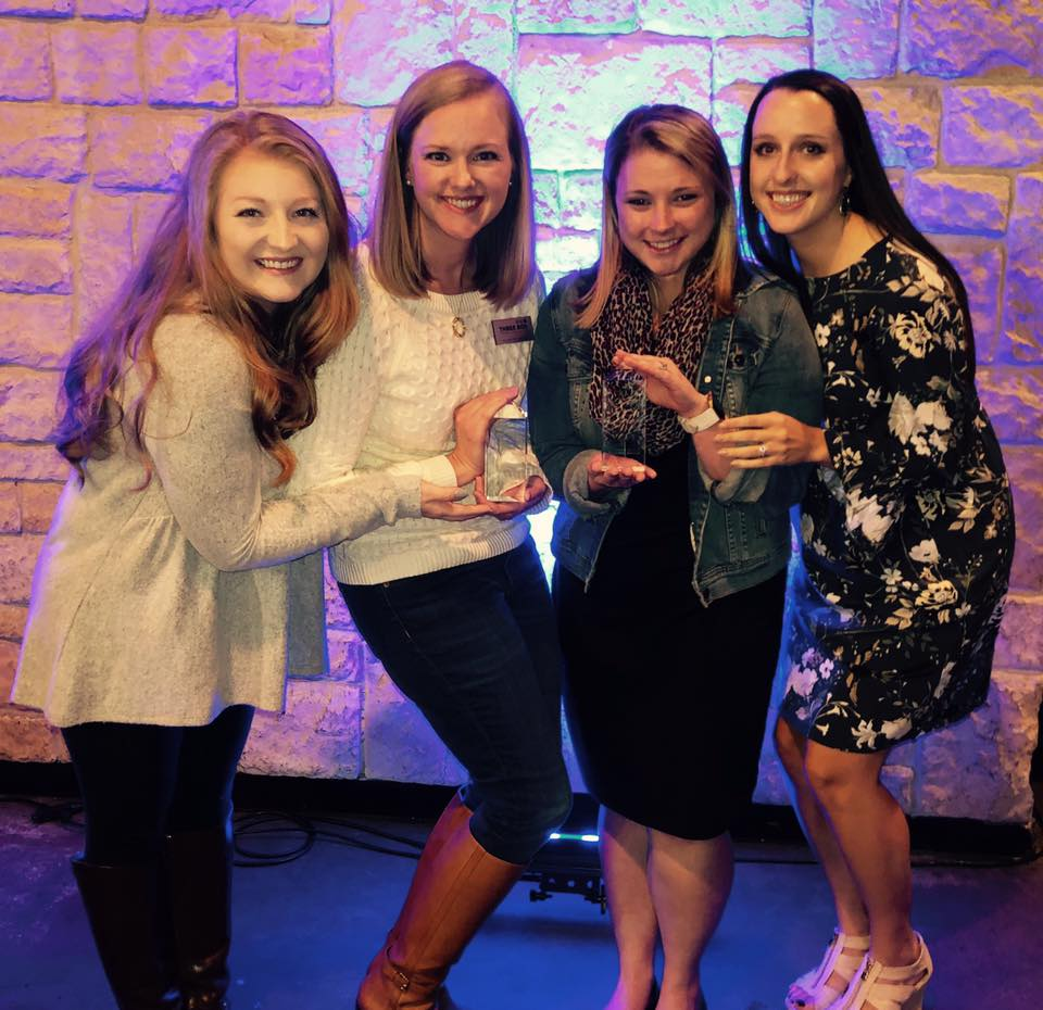 We received two Pegasus Awards from PRSA Dallas in October