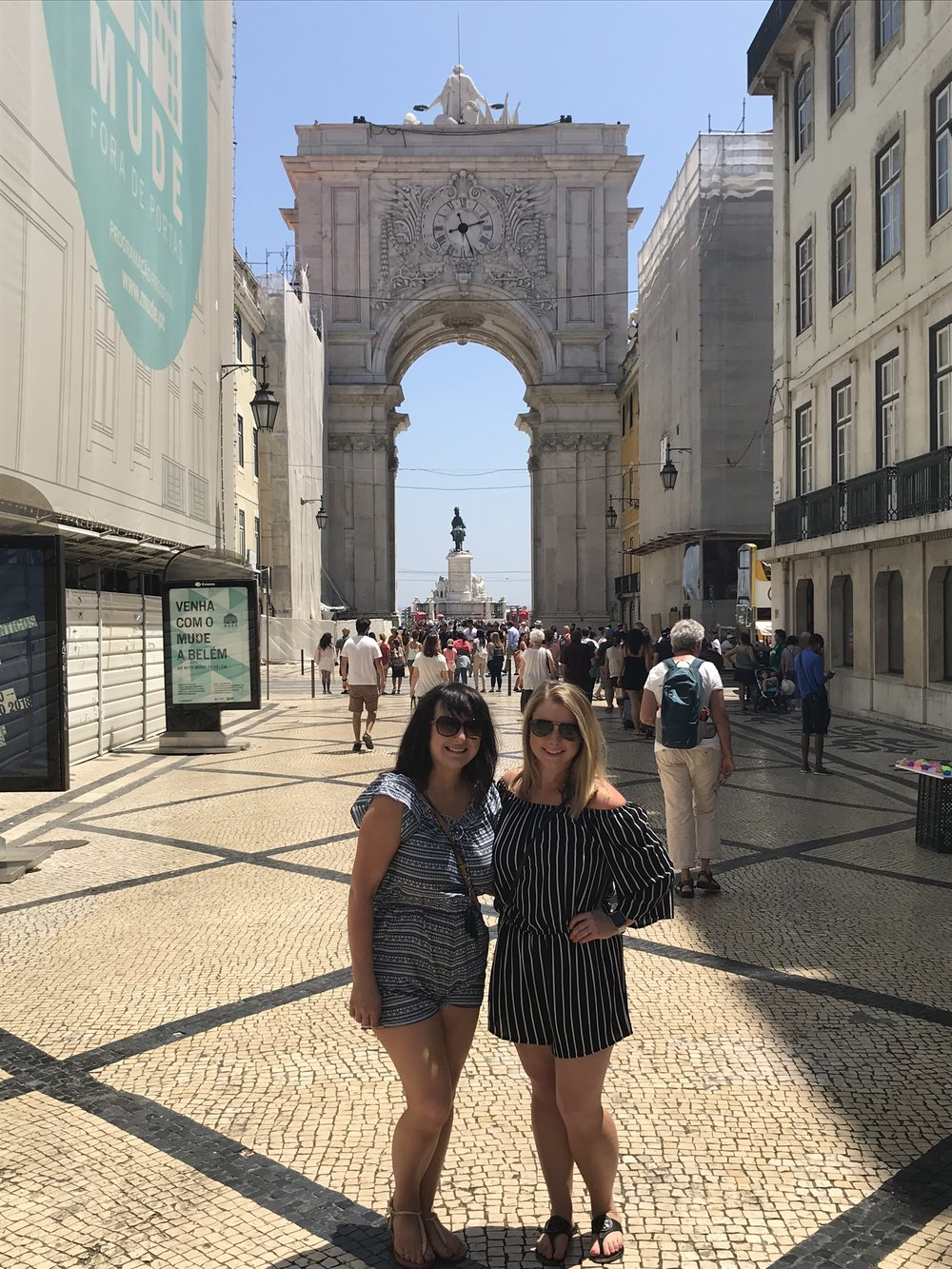 My lifelong friend Joanne from Northern Ireland met us in Lisbon for a much-needed reunion.