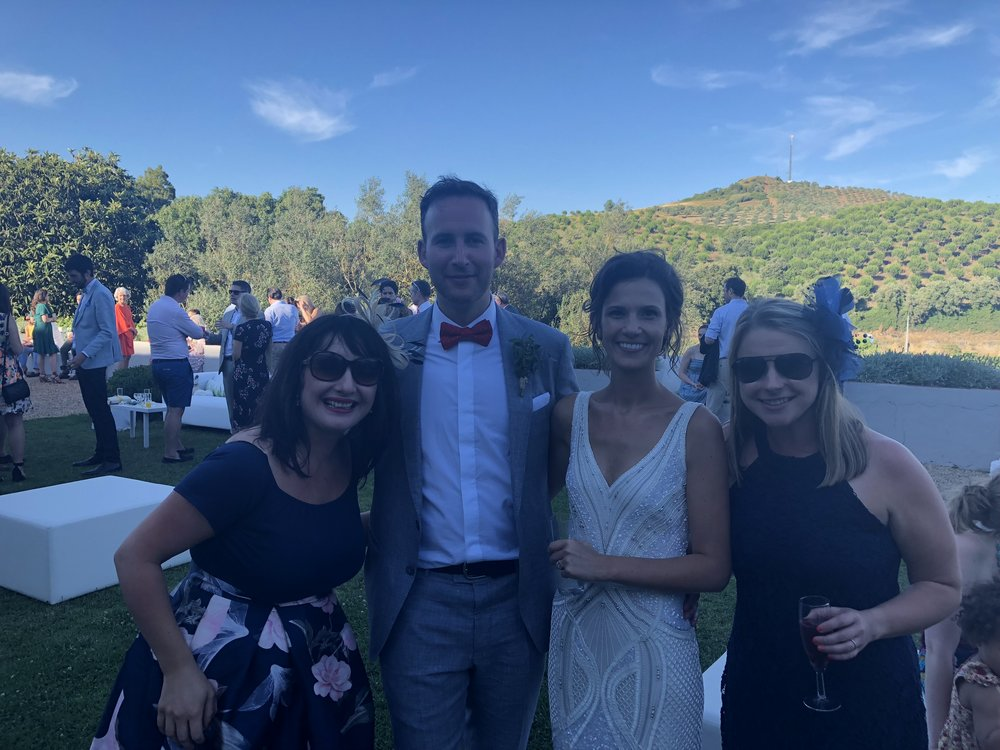 The best part was we got to attend the destination wedding of our dear friends Hannah and Richie at Quinta De D. Carlos winery and estate in the Portuguese countryside.