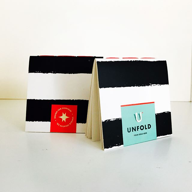Time for a refresh --- Meet the new Unfold Mini Journal Business Card.  #mininotebook #businesscarddesign #businesscards #printdesign #handmade #graphicdesign #brandidentity #branding #bespokedesign #custommade #custombusinesscards #unfoldcreativeco #unfoldyourideas #smallbusinessowner #entrepreneur #designforeveryone #designer #design