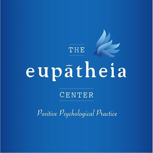 New brand identity and web design for @eupatheiacenter. Read about the process at link in bio. . . . #brandidentity #branding #brandidentitydesign #webdesign #websitedesign #eupatheia #psychology #newstoicism #stoicism #psychologist #entrepreneur #smallbusiness #designforeveryone #unfoldcreativeco #graphicdesign #design #blues #theeupatheiacenter