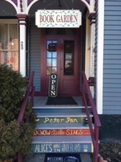 Entrance to The Book Garden, 28 Bridge Street, Frenchtown, N.J.