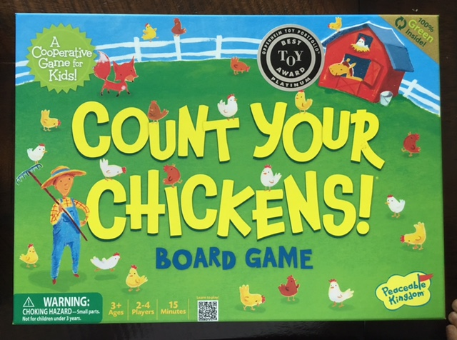- Count Your Chickens practices counting.